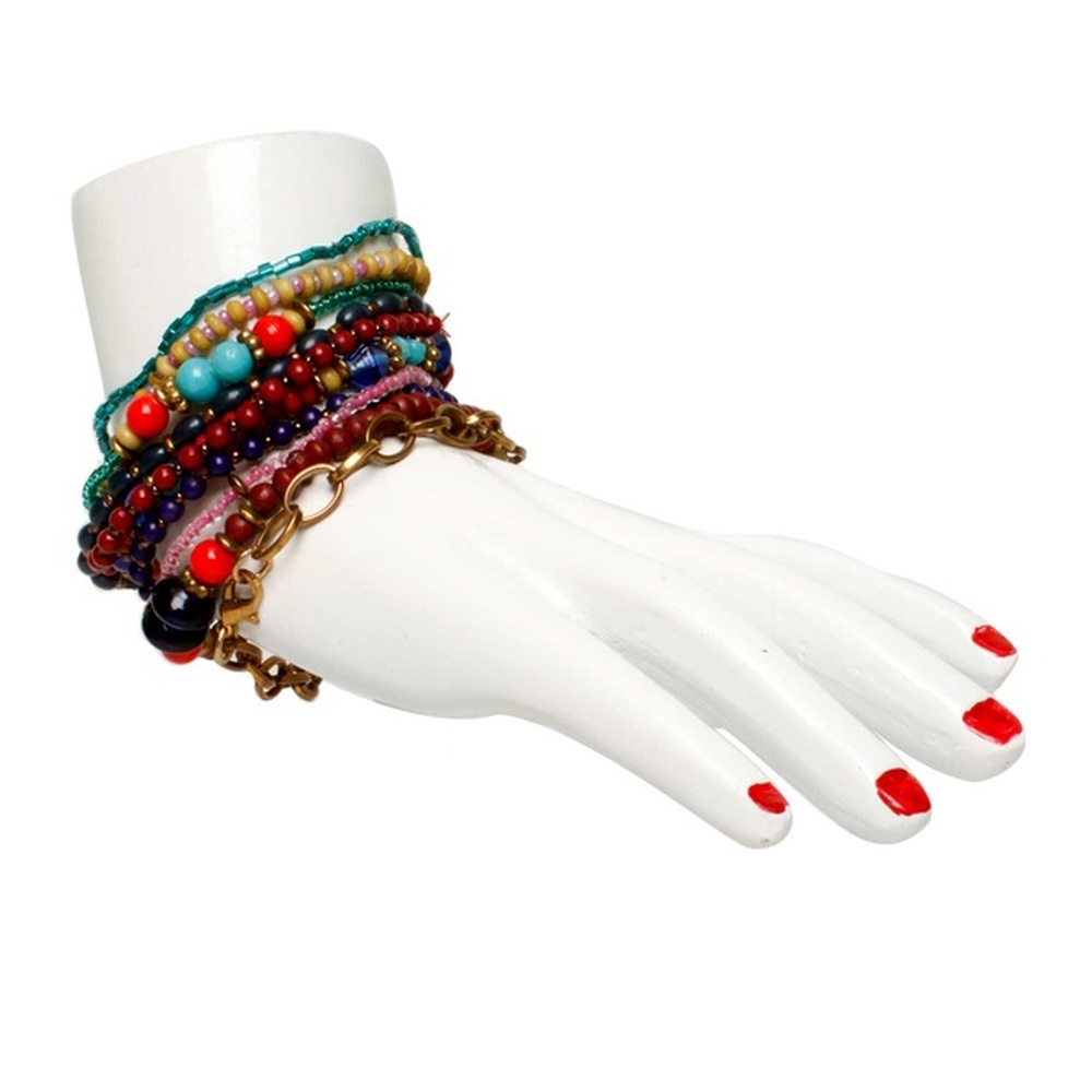 Multicolor Beaded Bracelet by Sangeeta Enterprises - Fashion Accessories Manufacturers in India