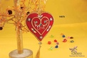 Heart shaped Christmas Hanging by Sangeeta Enterprises