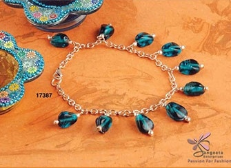 Fashion Anklets Online at Sangeeta Enterprises - Fashion Jewellery Manufacturers India