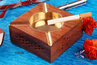 Wooden Ashtrays Online India at Sangeeta Enterprises