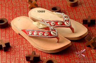 Beaded Slippers Online at Sangeeta Enterprises