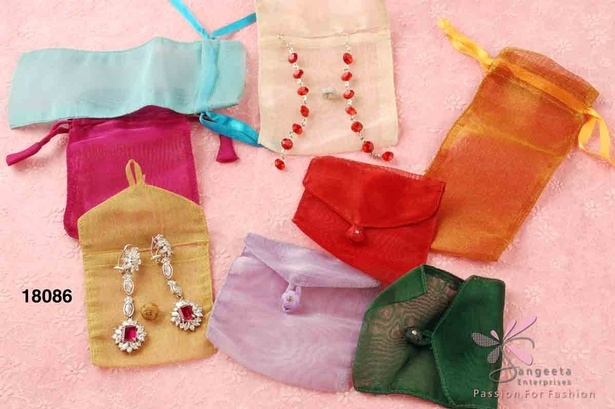Jewellery Pouches Online India at Sangeeta Enterprises