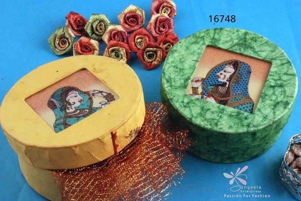 Beautiful Handmade paper Gift boxes