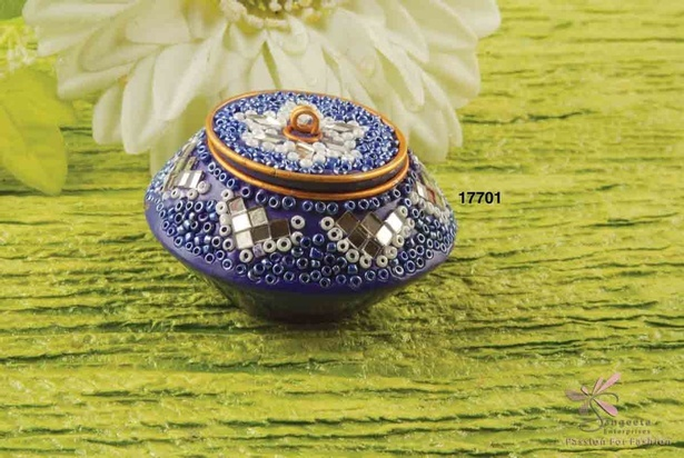 Traditional design decorative pill box by Sangeeta Enterprises