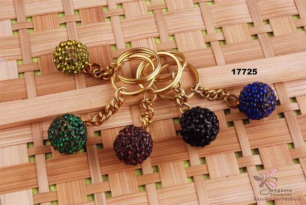 Five multi-color keychains - Buy Keyrings Online at Sangeeta Enterprises