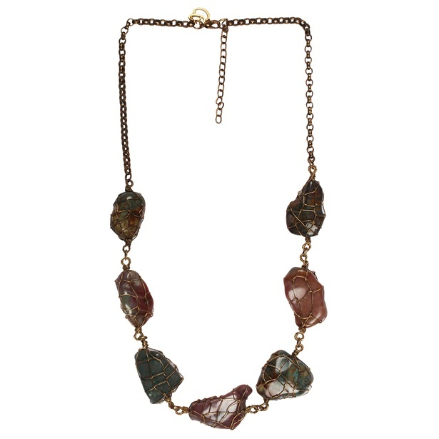 The Home Folk Multi-Color Strand Necklace