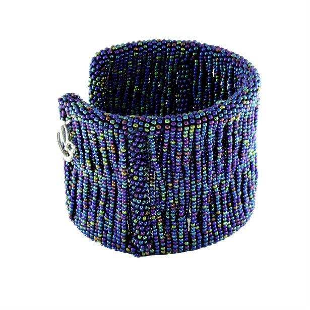 Blue Potay Bangle by Sangeeta Enterprises - Fashion Jewellery Manufacturers in India