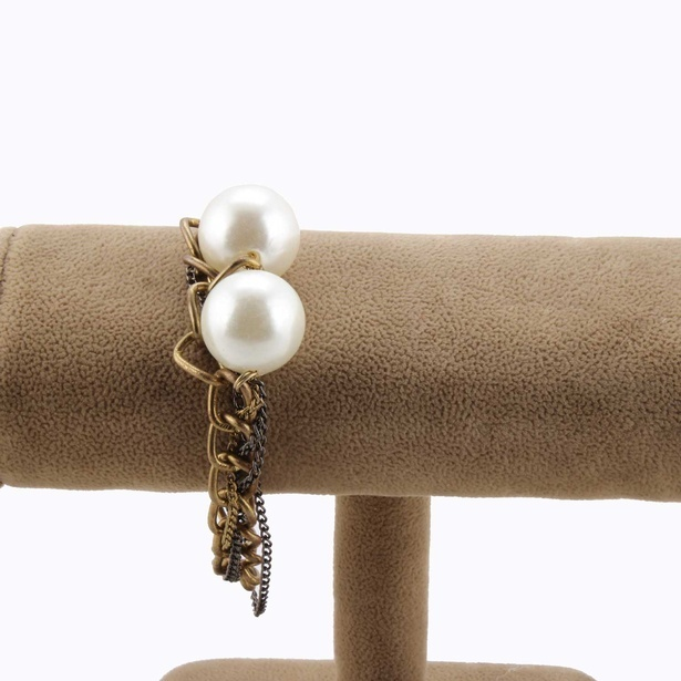 White Pearl Bracelet by Sangeeta Enterprises - India Fashion Jewellery Online