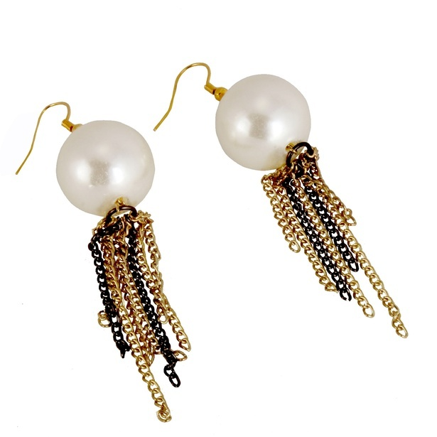 Fancy Pearl Earrings at Sangeeta Enterprises - India Fashion Jewellery Online