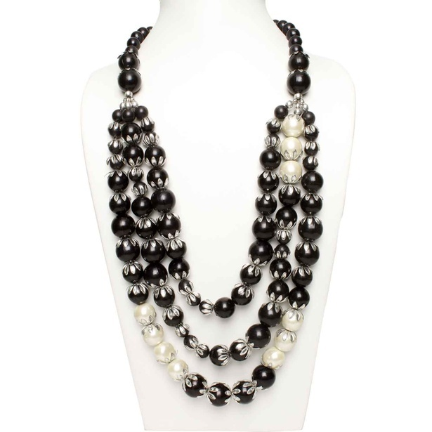 3 Layer Luscious Pearl Necklace Online at Sangeeta Enterprises