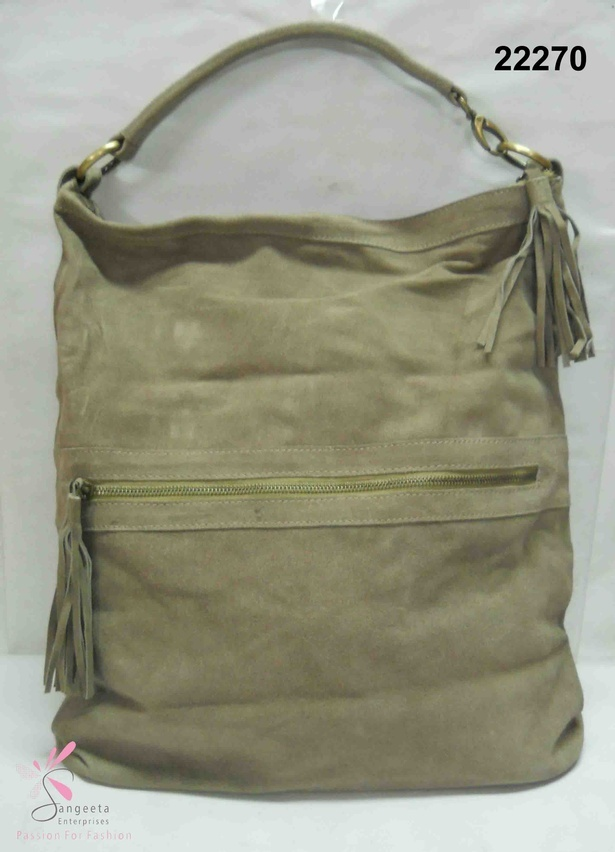 Beautiful hand bag in olive green colour