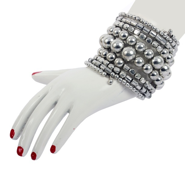 Alloy and metallic bracelet cum bangle - Latest Fashion Jewellery Online at Sangeeta Enterprises