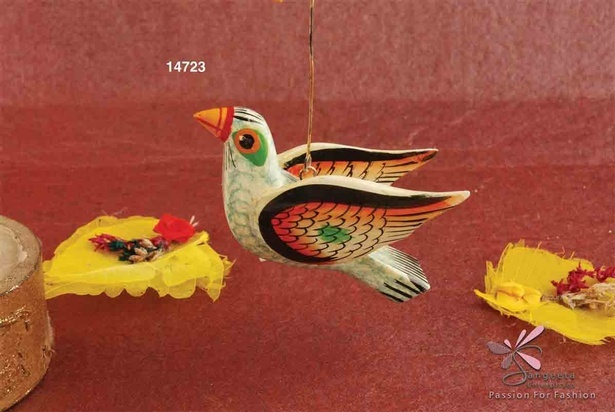 Wooden Bird Hanging Toy by India Accessories Manufacturer - Sangeeta Enterprises