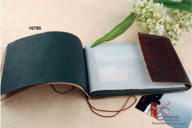 Leather photo album by Sangeeta Enterprises