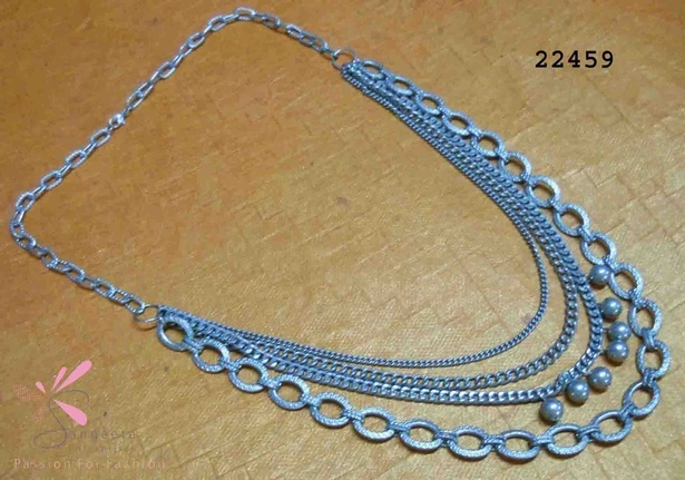 Egyptian design metallic chain necklace at Sangeeta Enterprises