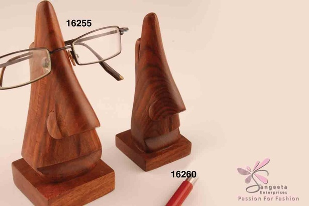 Wood spectacles holder - Desk accessories by Sangeeta Enterprises
