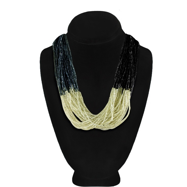 Multi-Strand beaded Necklace - Fancy short necklaces Online at Sangeeta Enterprises