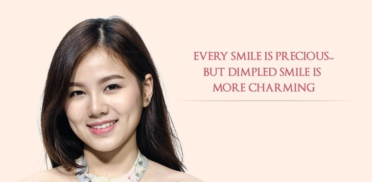 Every dimple is precious but dimpled smile is more charming